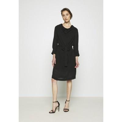 インウェア ワンピース レディース トップス PABLAH DRESS - Day dress - black