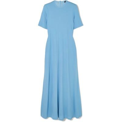 ジョゼフ JOSEPH ロングワンピース&ドレス アジュールブルー M レーヨン 100% ロングワンピース&ドレス