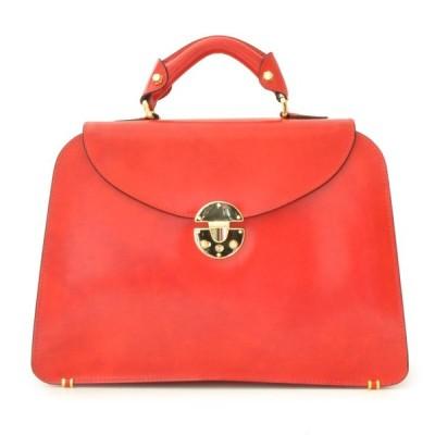 プラテージ 革 イタリア製 レディースバッグ 手提げ鞄 プラテシ Pratesi イタリアンレザー