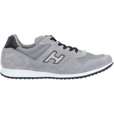 ホーガン HOGAN スニーカー&テニスシューズ(ローカット) グレー 10 革 / 紡績繊維 スニーカー&テニスシューズ(ローカット)