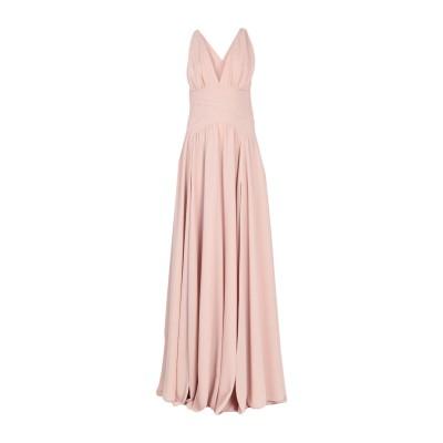 MARY D'ALOIA® ロングワンピース&ドレス ライトピンク 42 ポリエステル 100% ロングワンピース&ドレス