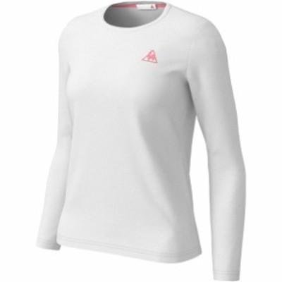 ナガソデシャツ le coq sportif ルコック マルチSPロングTシャツ W (qmwpjb30zz-wht)
