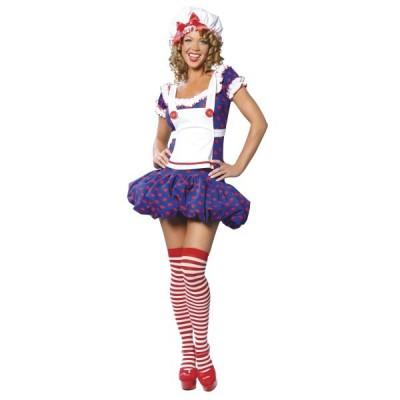 ラグドール 人形 衣装 、コスチューム 大人女性用 Rag Doll