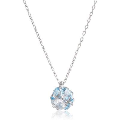 [ブルーム] 水晶・クオーツ ホワイトゴールド K10 ネックレス BAPWB1604I40