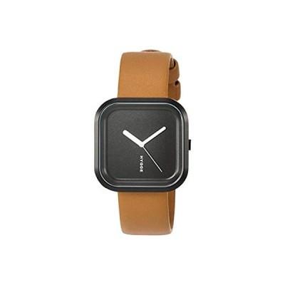 [ヒュッゲ] 腕時計 HGE020092 ブラウン