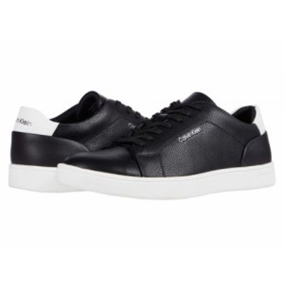 Calvin Klein カルバンクライン メンズ 男性用 シューズ 靴 スニーカー 運動靴 Winston Black Tumbled Smooth【送料無料】