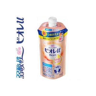 ビオレu ボディウォッシュ うるおいしっとり フローラルフルーティの香り 詰替用 340mL / 花王 ビオレu