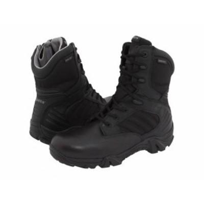 Bates Footwear ベイツ メンズ 男性用 シューズ 靴 ブーツ ワークブーツ GX-8 GORE-TEX(R) Side-Zip Black【送料無料】