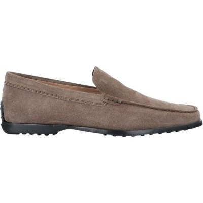 トッズ TOD'S メンズ ローファー シューズ・靴 Loafers Dove grey