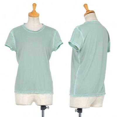 イッセイミヤケ ハートISSEY MIYAKE HaaT ナイロンシフォンTシャツ 水色2 【レディース】