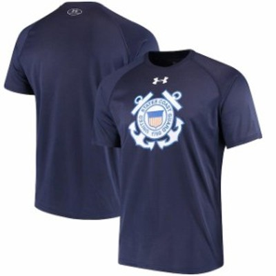 Under Armour アンダー アーマー スポーツ用品  Under Armour Coast Guard Academy Bears Navy Military Branch Tech Perf