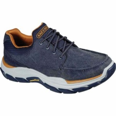 スケッチャーズ Skechers メンズ スニーカー シューズ・靴 Relaxed Fit Respected Loleto Sneaker Navy