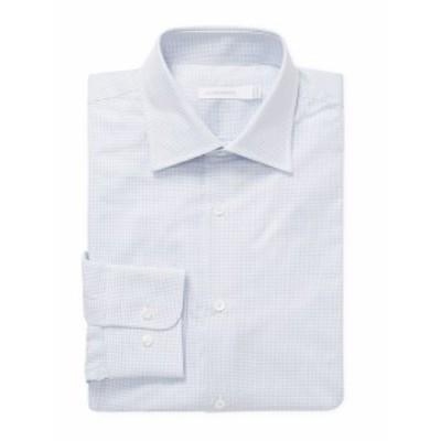 J. リンデベルク Men Clothing Corkz CA Bankers Twill Dress Shirt