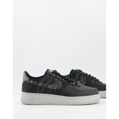 ナイキ メンズ スニーカー シューズ Nike Air Force 1 '07 LV8 M2Z2 sneakers in black Black