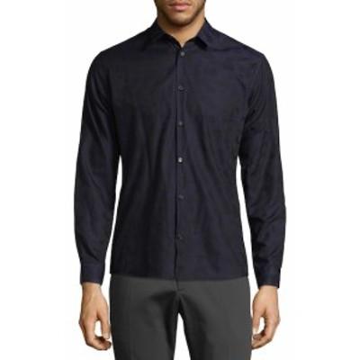 デイビッドナマン Men Clothing Printed Cotton Shirt