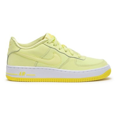 ナイキ NIKE エア フォース ワン Air Force 1 LV8 GS Grade School Citron Tint Style AV8183-800 ローカット Yellow White