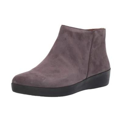FitFlop Womens Sumi Steel Grey Sneaker - 7