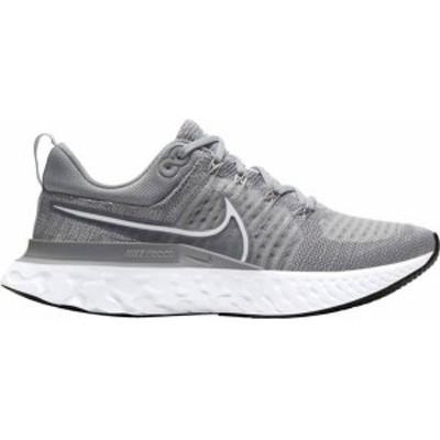 ナイキ レディース スニーカー シューズ Nike Women's React Infinity Run Flyknit 2 Running Shoes Grey/White