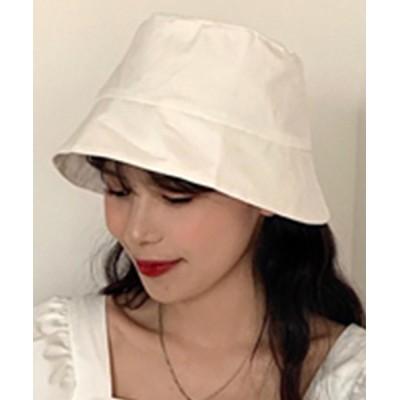 TeddyShop / レディース 似合わせシンプルバケットハット WOMEN 帽子 > ハット