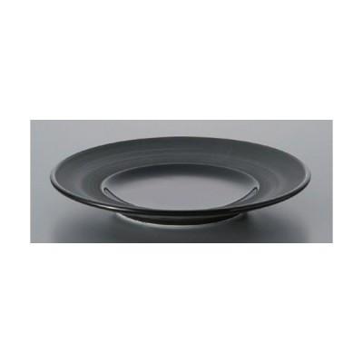☆ ボーダーレススタイル ☆グラシアブラック17cmパン [ 17.3 x 2.4cm 266g ] 【 ホテル レストラン 洋食器 飲食店 業務用 】