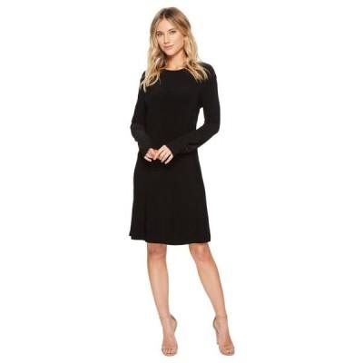 ユニセックス スカート ドレス Long Sleeve Crew Dress To Knee