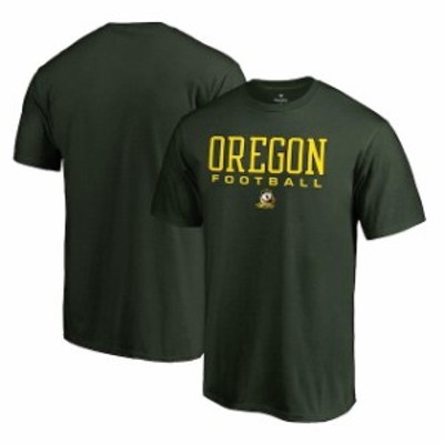 Fanatics Branded ファナティクス ブランド スポーツ用品  Fanatics Branded Oregon Ducks Green True Sport Football T-Shirt