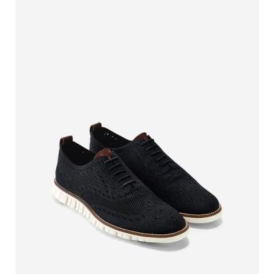 コールハーン Colehaan アウトレット メンズ シューズ 靴 オックスフォード ゼログランド スティッチライト オックスフォード mens C24948 ブラック/アイボリー