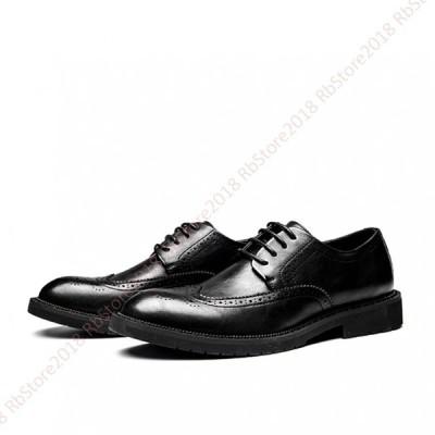 メンズ  ビジネスシューズ ブラック 牛革 革靴  紳士靴  ファッション  春 夏 秋  大人 オシャレ パーティー   結婚式 疲れない  快適 カジュアルシューズ