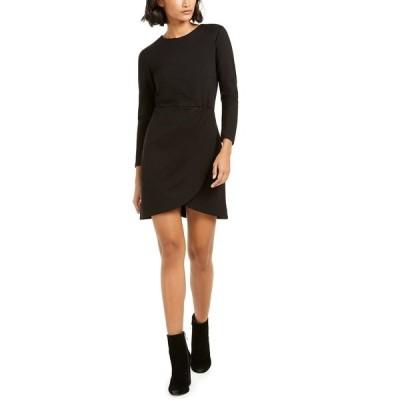 フレンチコネクション ワンピース トップス レディース Lulu Faux-Wrap Dress Black