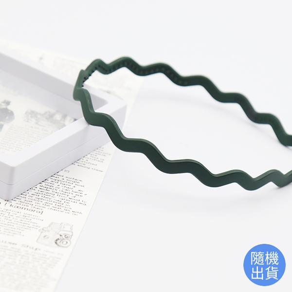 韓國製Bijoux C. 森之精靈波浪髮箍/氣質造型髮飾/隨機出貨