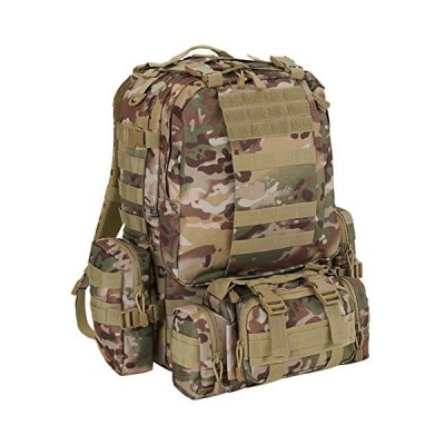 Brandit Backpack US Cooper Modular Pack, Color:Tactical camo 並行輸入品
