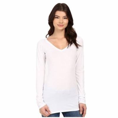 ラメイド LAmade レディース Tシャツ Vネック トップス Fitted V-Neck Tee White