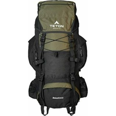 TETON Sports Scout 3400 Internal Frame Backpack; High-Performance Back(未使用品)