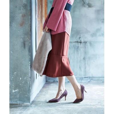 MK MICHEL KLEIN homme / 【洗濯機で洗える】ペプラム切替えスカート WOMEN スカート > スカート