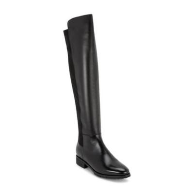 ブロンド レディース ブーツ&レインブーツ シューズ Presto Waterproof Knee High Boot BLACK LEAT