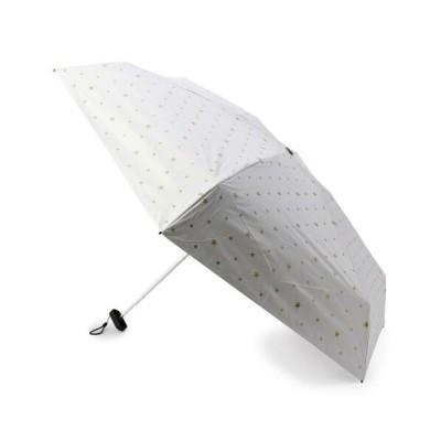grove/グローブ Wpc. 遮光スターミニ折り畳み傘(晴雨兼用) アイボリー(804) 00