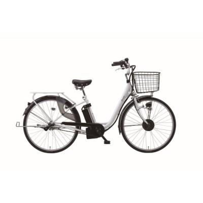SUISUI Breeze 電動アシスト 軽快車 自転車 26インチ 内装3段変速 ホワイト BM-PZ100-WH