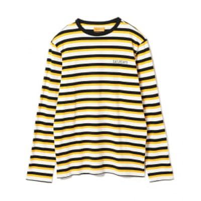 【アウトレット】SATURDAYS SURF NYC / Alek Stripe ロングスリーブ Tシャツ