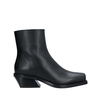 プロエンザスクーラー PROENZA SCHOULER ショートブーツ ブラック 35 牛革(カーフ) ショートブーツ