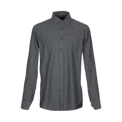 メッサジェリエ MESSAGERIE シャツ スチールグレー 41 コットン 100% シャツ