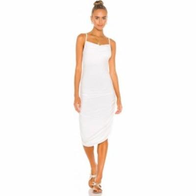 インダー Indah レディース ワンピース ミドル丈 ワンピース・ドレス Cloud Solid Midi Dress White