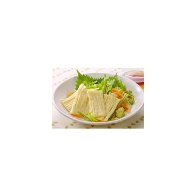 冷凍食品 業務用 引き上げゆば 150g (4本入) 11691 弁当 生ゆば 刺身 鍋物 天ぷら 豆腐 とうふ 豆 まめ マメ 湯葉 ユバ 日本料理 和食 鍋 レンジ