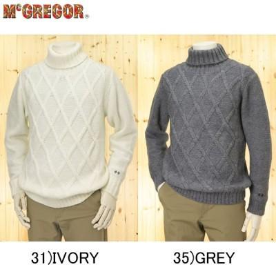 メンズマクレガー、メンズセーター、タートルネック セーター/111-73-4802
