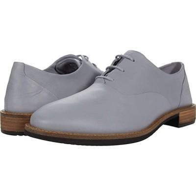 エコー Sartorelle 25 Tailored Tie レディース オックスフォード Silver Grey Cow Leather
