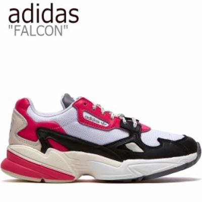 アディダス ファルコン スニーカー adidas FALCON ファルコン ダッドシューズ ピンク ホワイト ブラック EG9926 FLADAA3U15 シューズ