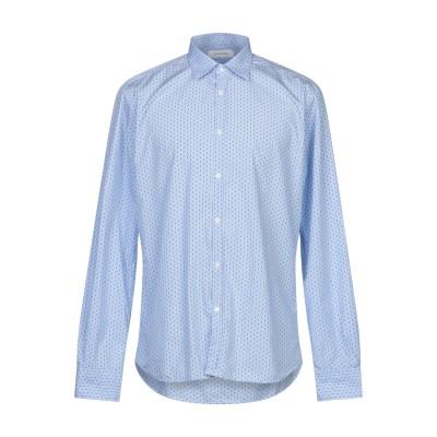 アリーニ AGLINI シャツ スカイブルー 42 コットン 100% シャツ