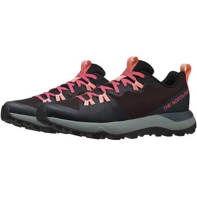 ノースフェイス シューズ レディース ランニング The North Face Women's Activist Lite Shoe Tnf Black / Calypso Coral