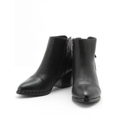 靴 レディース バックベルトブーティブーツ ブーティ 厚底 デートスタイル goods dazzystore デイジーストア あす楽