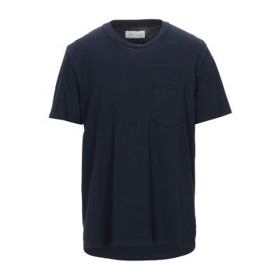 LES TIEN T シャツ ダークブルー M コットン 100% T シャツ