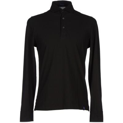 ドルモア DRUMOHR ポロシャツ ブラック XS コットン 100% ポロシャツ